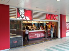I Chinese KFC ( in Hong Kong )